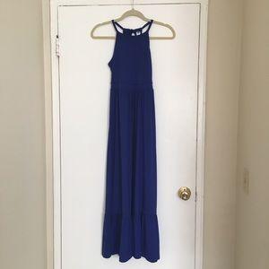 Blue Old Navy Maxi Dress